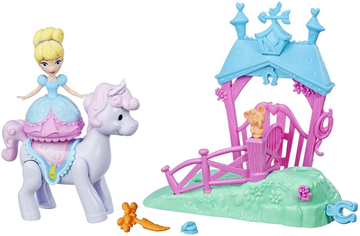 Disney Princess Игровой набор Cinderella's Pony Ride Stable - Куклы и аксессуары