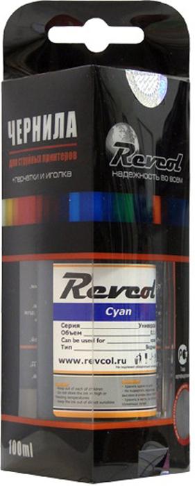 Revcol R-E-0,1-CD Cyan, чернила для принтеров Epson, 100 мл e mu cd rom