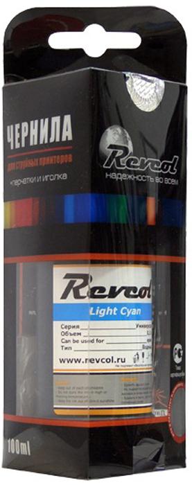 Revcol R-E-0,1-LCD L.Cyan, чернила для принтеров Epson, 100 мл