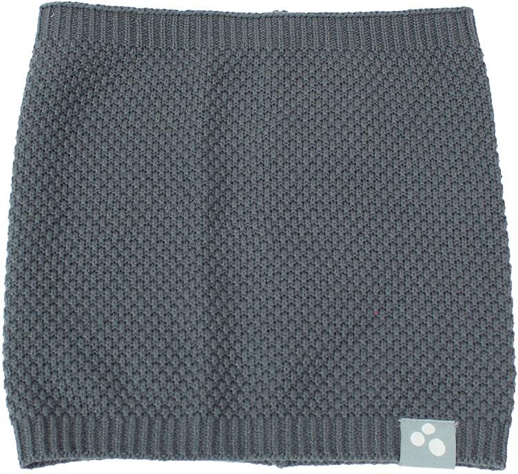 Манишка детская Huppa Rafa 2, цвет: серый. 86670200-70048. Размер универсальный86670200-70048Стильная и яркая манишка RAFA 2 - это не только прекрасная защита от холода, но и модный аксессуар. Удобство в ношении и комфорт, так как в отличии от обычного шарфа, манишка не сползет во время ношения. Выполнена из хлопково-акриловой пряжи.