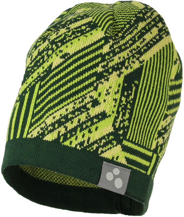 Шапка детская Huppa Paul 1, цвет: лайм. 80130100-82347. Размер XL (57/59) шапка детская huppa шапка зимняя weemi фиолетовый принт