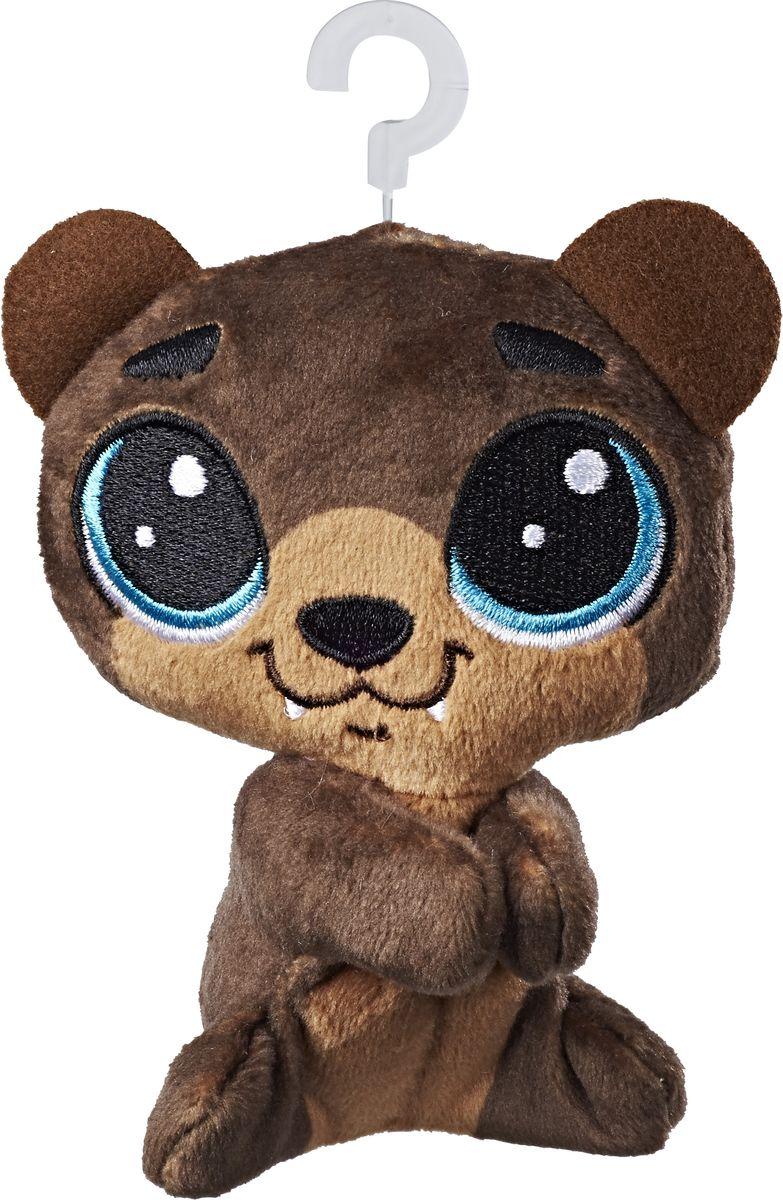 Littlest Pet Shop Мягкая игрушка Пет Hoffman Beary 10 см фигурка littlest pet shop зверюшка в закрытой упаковке 5 см в ассортименте