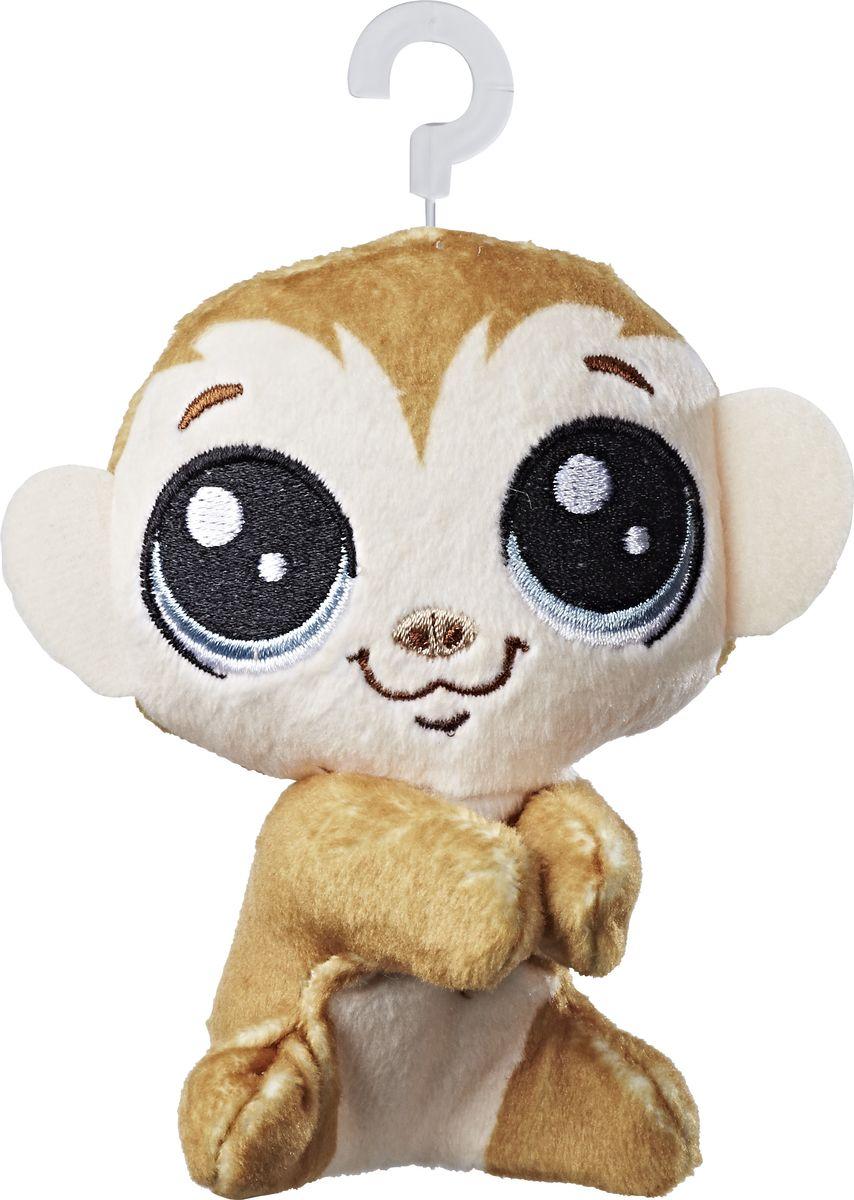 Littlest Pet Shop Мягкая игрушка Пет Clicks Monkeyford 10 см фигурка littlest pet shop зверюшка в закрытой упаковке 5 см в ассортименте