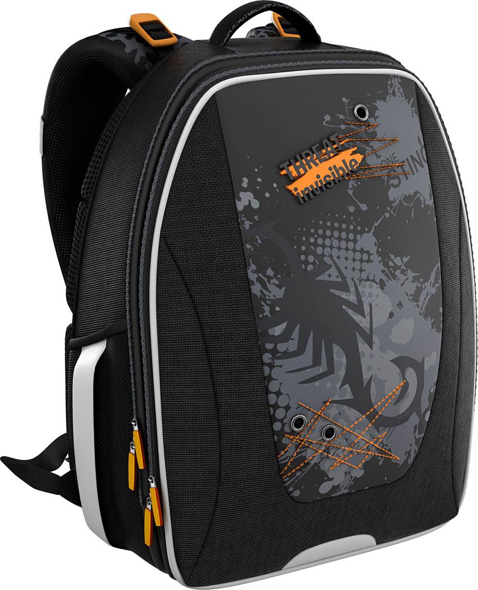 Erich Krause Рюкзак школьный Invisible scorpion Multi Pack39322Школьный рюкзак Erich Krause выполнен из водонепроницаемого материала и имеет жесткий каркас. Рюкзак имеет одно вместительное отделение на застежке-молнии. Снаружи на лицевой стороне расположен карман на застежке-молнии, по бокам - накладные карманы. Вмещает формат А4. Эргономичная спинка обеспечит комфорт при носке. Рюкзак оснащен регулируемыми лямками и удобной ручкой для переноски в руке. Светоотражающие элементы увеличивают безопасность в темное время суток.