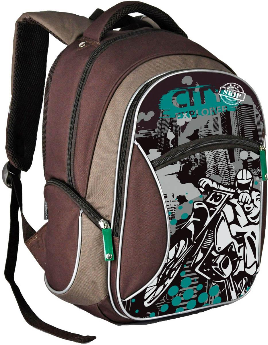 Erich Krause Рюкзак школьный City Explorer erich krause рюкзак детский city explorer multi pack