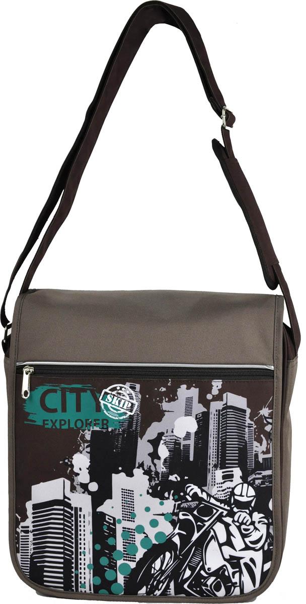 Erich Krause Сумка школьная City Explorer39338Школьная сумка имеет прямоугольную форму и удобный размер 30 х 33 см. Сумка достаточно вметительная.Имеется один большой основной отсек и один дополнительный. Последний располагается на своего рода «крышке» сумки и застегивается с помощью замка-молнии. Удобный регулируемый ремень для переноски позволяет носить сумку на плече или через плечо . Изготовлена из современного материала высоко качества, не содержащего в своем составе вредных или опасных для здоровья ребенка веществ.