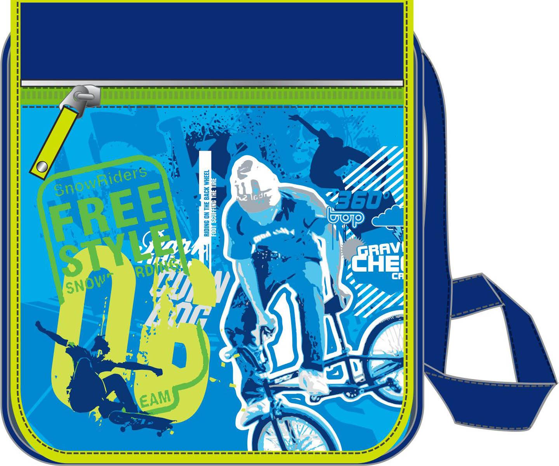 Erich Krause Сумка школьная Extreme39356Школьная сумка Erich Krause имеет прямоугольную форму. Сумка достаточно вместительная.Она имеется одно большое отделение. Застегивается на застежку-молнию и дополнительно наклапан. На клапане расположен прорезной карман на застежке-молнии. Удобный регулируемыйремень для переноски позволяет носить сумку на плече или через плечо. Изготовлена из современного материала высоко качества, не содержащего в своем составевредных или опасных для здоровья ребенка веществ.