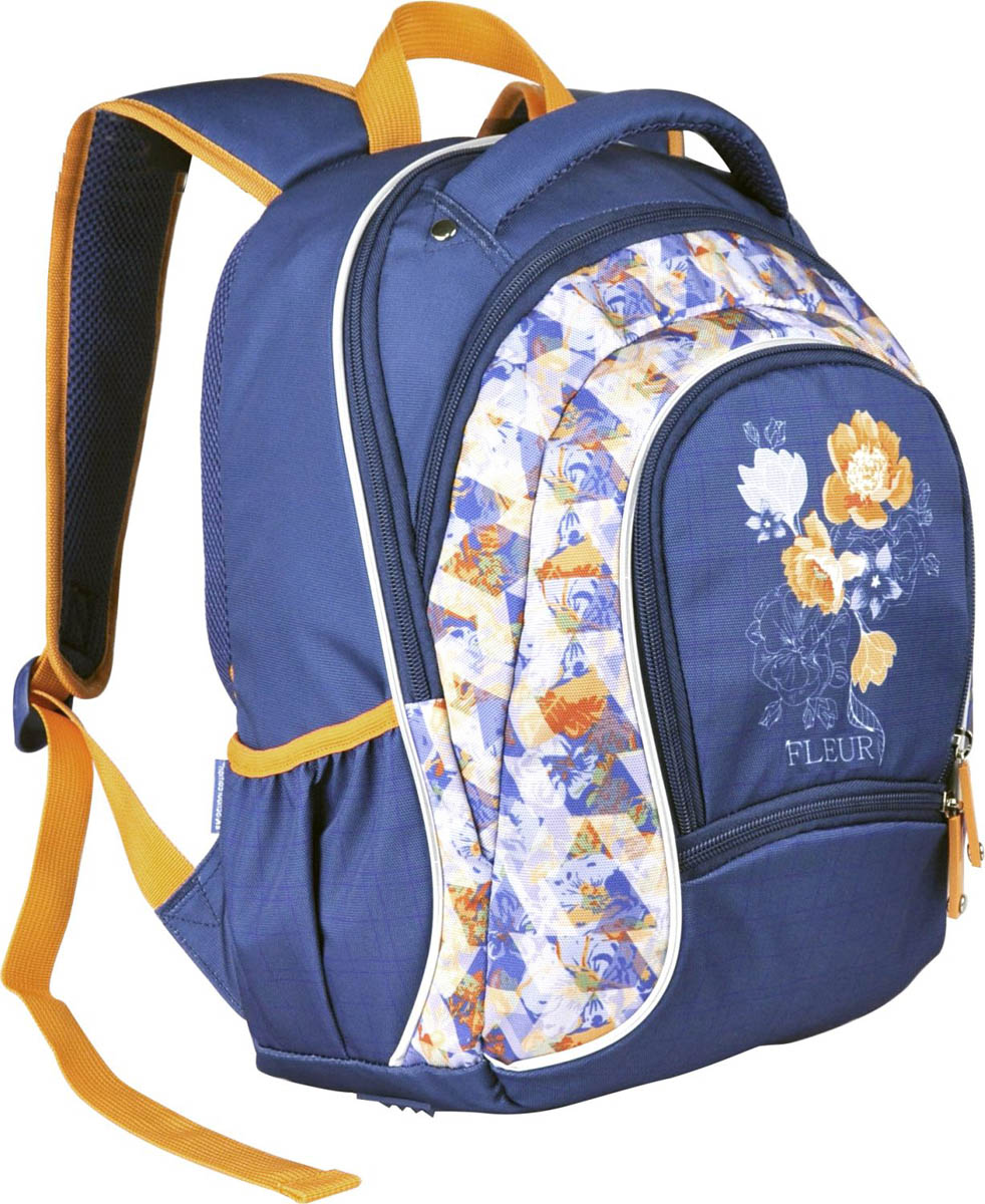 Erich Krause Рюкзак школьный La'Fleur erich krause рюкзак школьный doodling multi pack