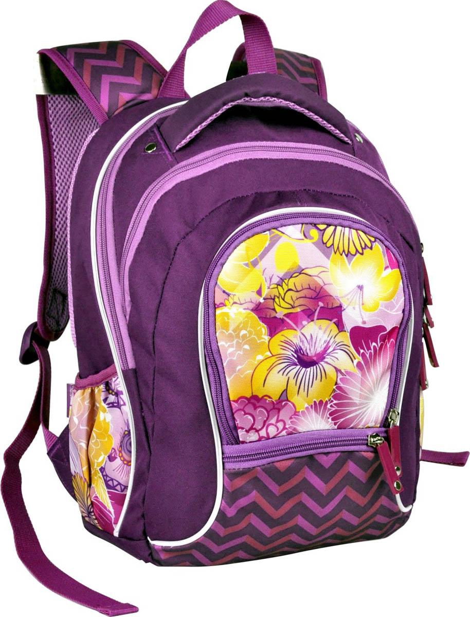 Erich Krause Рюкзак школьный Mistic Flowers erich krause рюкзак школьный neon