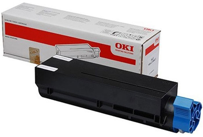 Oki 45807120, Black тонер-картридж для Oki B412/432/512/MB472/492/562 drum unit for oki data led printer 401 dfor oki data mb 451dn for okidata mb 451mfp black reset drum cartridge free shipping