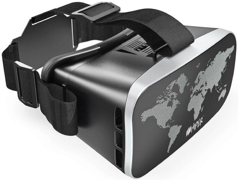 HIPER VRW, Black очки виртуальной реальности - VR и 3D очки