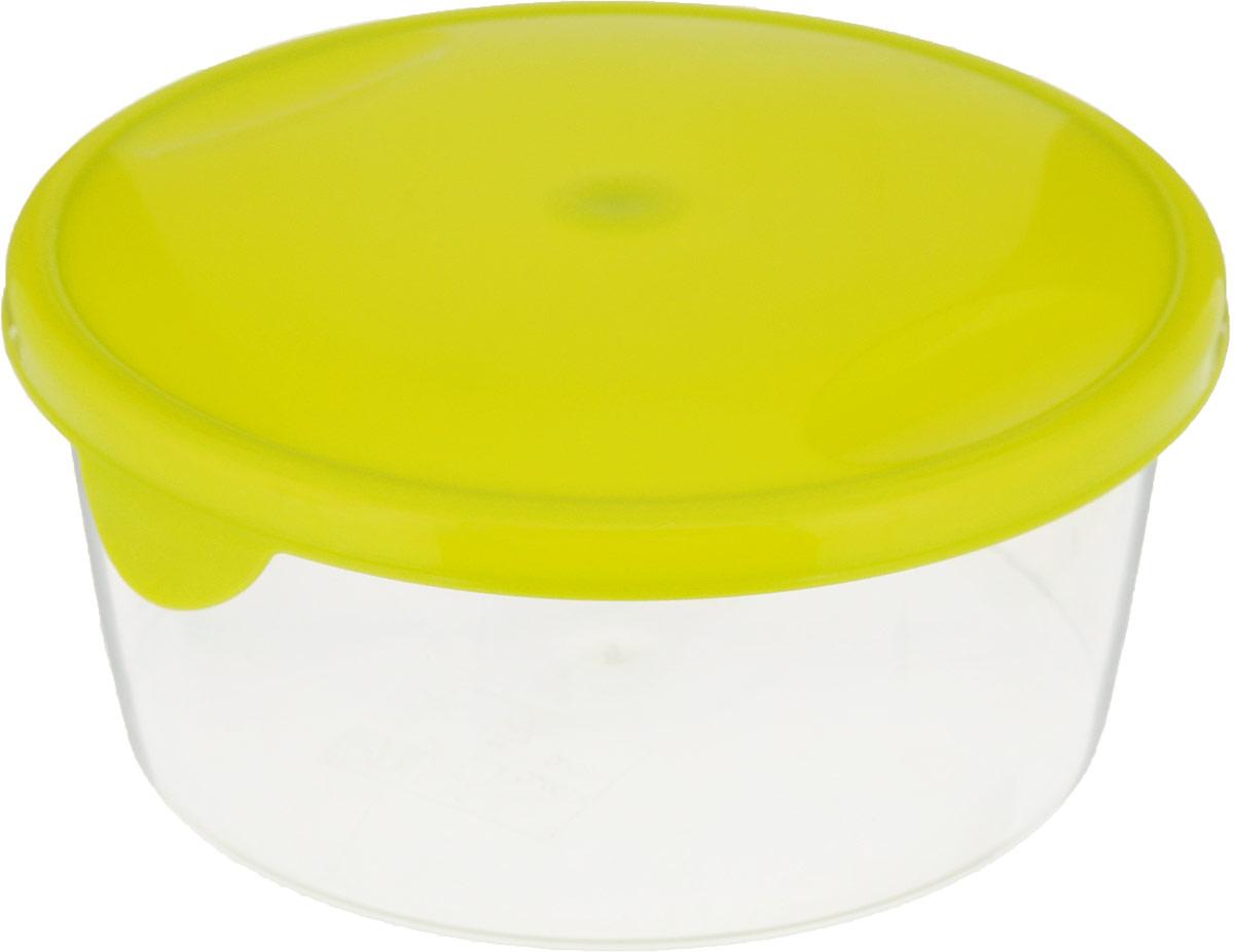 Емкость для продуктов Giaretti Браво, цвет: салатовый, прозрачный, 500 млGR1032_салатовыйЕмкость для продуктов Giaretti Браво изготовлена из пищевого полипропилена. Крышка плотно закрывается, дольше сохраняя продукты свежими. Боковые стенки прозрачные, что позволяет видеть содержимое.Емкость идеально подходит для хранения пищи, фруктов, ягод, овощей.Такая емкость пригодится в любом хозяйстве.