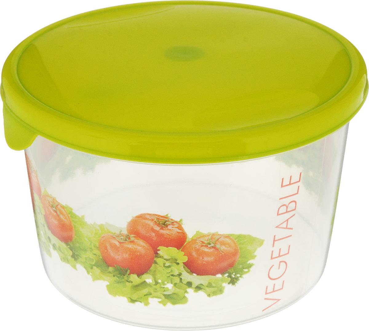 Емкость для продуктов Giaretti Браво, цвет: салатовый, прозрачный, 750 мл. GR1067GR1067_салатовыйЕмкость для продуктов Giaretti Браво изготовлена из пищевого полипропилена. Крышка плотно закрывается, дольше сохраняя продукты свежими. Боковые стенки прозрачные, что позволяет видеть содержимое.Емкость идеально подходит для хранения пищи, фруктов, ягод, овощей.Такая емкость пригодится в любом хозяйстве.
