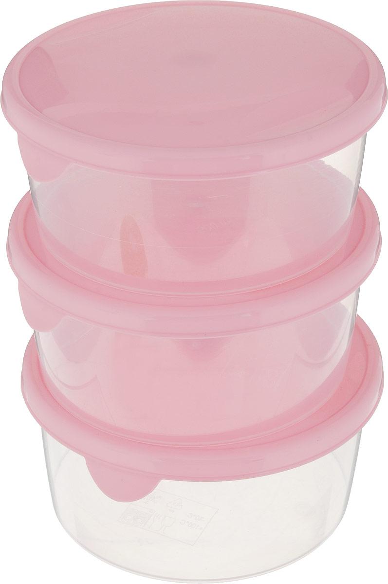 """Комплект емкостей для продуктов Giaretti """"Браво"""" состоит из 3 контейнеров. Емкости изготовлены из пищевого полипропилена и оснащены крышками, которые плотно закрываются, дольше сохраняя продукты свежими. Боковые стенки прозрачные, что позволяет видеть содержимое.  Емкости идеально подходят для хранения пищи, фруктов, ягод, овощей.  Такой комплект пригодится в любом хозяйстве. Легкие емкости одинаково удобно взять с собой или хранить продукты дома, замораживать ягоды и овощи небольшими порциями. Тонкий, но вместе с тем прочный пластик обеспечивает надежность изделий."""