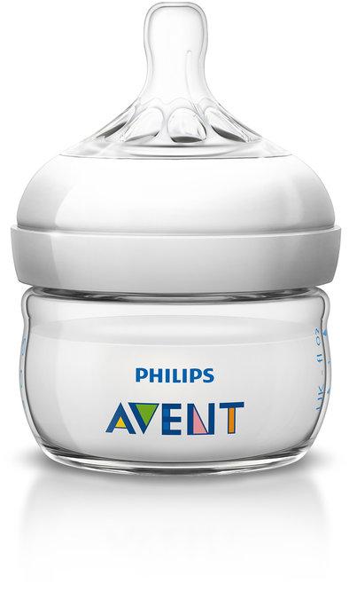 Philips Avent Бутылочка для кормления Natural 60 мл PHA-SCF699/17