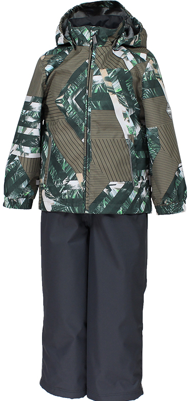 Комплект верхней одежды детский Huppa Yoko 1, цвет: зеленый. 41190114-82307. Размер 13441190114-82307Комплект для девочек YOKO 1. Размер 110-152. Водо и воздухонепроницаемость 10 000. Состав: Ткань 100% полиэстер, Подкладка тафта 100% полиэстер. Утеплитель: Куртка 100 гр, брюки 40 гр. Отличительные особенности: Швы проклеены, Отстегивающийся капюшон, Капюшон на резинке, Манжеты рукавов на резинке, Регулируемые низы, Эластичный шнур+фиксатор, Съемные резиновые подтяжки, Добавлены петли для подтяжек. Присутствуют светоотражательные детали.