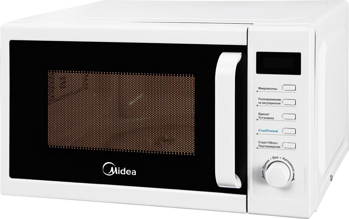 Midea AM820CUK-W микроволновая печь