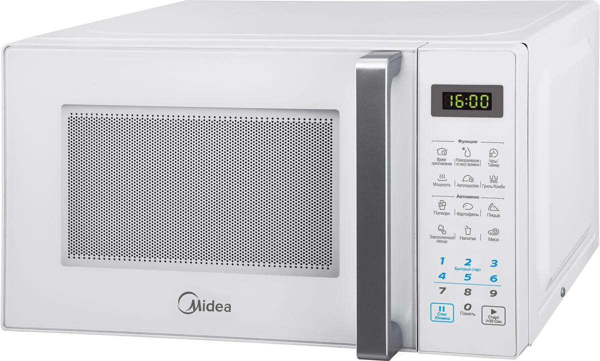 Midea EG820CXX-W микроволновая печь микроволновая печь midea mm720cww