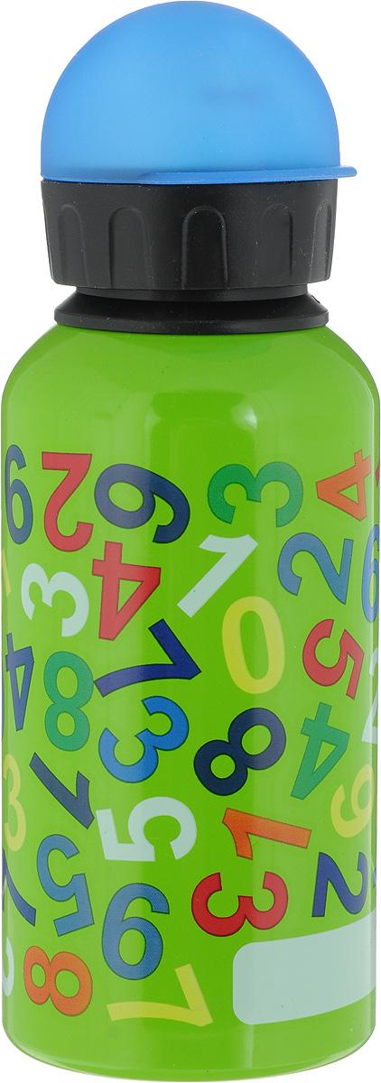 Фляжка Emsa, цвет: зеленый, 400 мл514401Фляга изготовлена из алюминия и покрыта специальным составом, который препятствует окислению. В нее можно наливать не только воду, но исоки, чай и другие напитки. Из фляги очень удобно пить, а крышка закрывается абсолютно герметично. Можно мыть в посудомоечной машине.