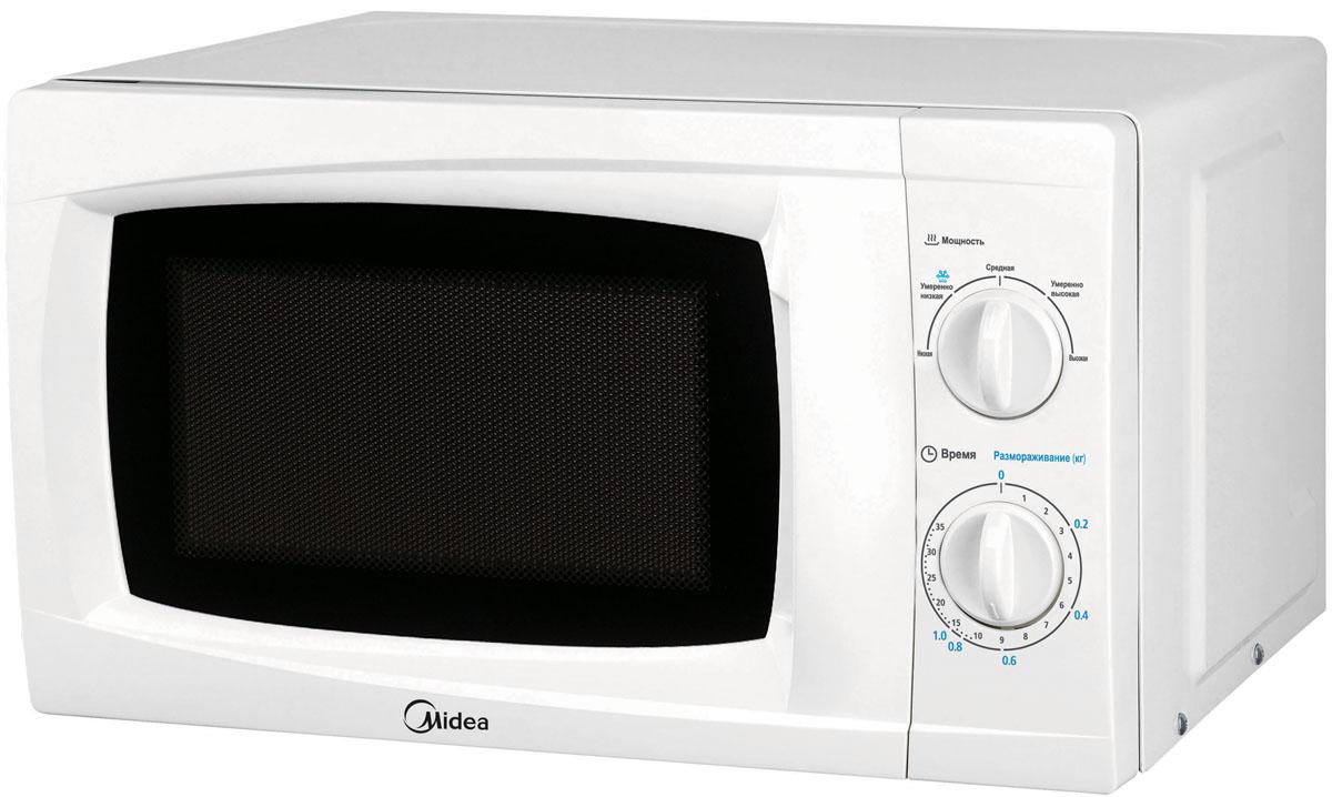 Midea MM720CKL, White микроволновая печь - Микроволновые печи