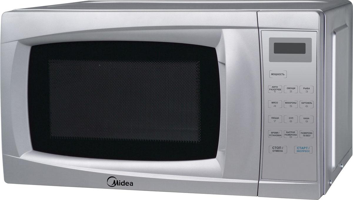 Midea EM720CKL, Silver микроволновая печь