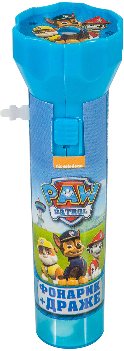 Paw Patrol фонарик с драже игрушка с конфетами, 8 г зонт трость с деревянной ручкой printio арбуз