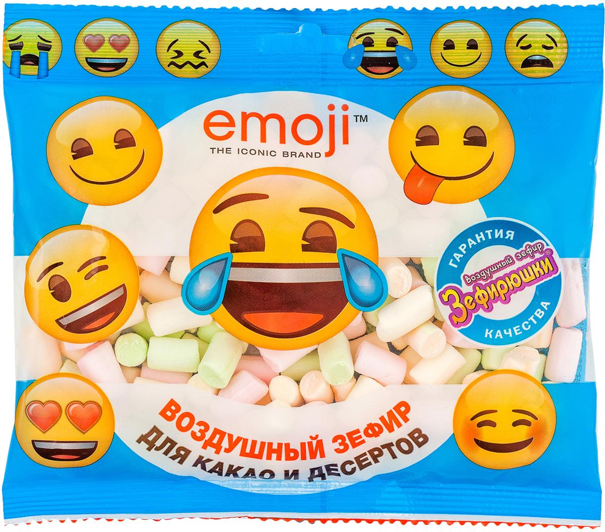 Emoji воздушный зефир, 40 гZF-10-8Разноцветный воздушный зефир Emoji от ГК Сладкая Сказка - вкусное угощение, которое одинаково нравится как детям, так и взрослым. Маршмеллоу содержит только натуральные ингредиенты. Кроме того, в нем отсутствуют жиры, так что полакомиться им смогут и те, кто придерживается диет и правильного питания.Разноцветные кусочки зефира с оттенками зеленого, желтого, розового и оранжевого цветов поднимут настроение и сделают напитки и десерты еще более аппетитными. Воздушный зефир можно употреблять как самостоятельное лакомство, так и добавлять в мороженое, фруктовые салаты, сладкие пиццы, выпечку, горячие напитки, молочные коктейли и в монстр-шейки. 40-граммовые упаковки воздушного зефира представлены в трех вариантах дизайна - синей, желтой и оранжевой пачках с изображением эмоций. Разноцветный воздушный зефир производится на российской фабрике, оснащенной линиями по производству маршмеллоу.