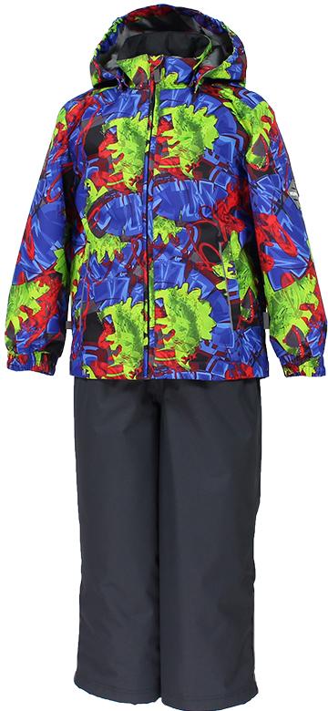 Комплект верхней одежды детский Huppa Yoko: куртка, брюки, цвет: синий. 41190014-82235. Размер 10441190014-82235Комплект верхней одежды детский Huppa Yoko состоит из курткии брюк. Функциональная куртка изготовлена из износостойкого, дышащего,водо- и ветронепроницаемого материала с водо- и грязеотталкивающейповерхностью. Все швы проклеены, водонепроницаемы. Съемный капюшонзащищает от холодного ветра. В брюках имеется ширинка на молнии ирегулируемые эластичные подтяжки. Комплект снабжен светоотражателями. Вкуртке предусмотрены два кармана на молнии.Полная функциональность: отповседневного комфорта до экстремальных условий. Водо- и воздухонепроницаемость 5 000 вверх / 10 000 низ. Утеплитель: куртка 100 г, брюки 40 г. Отличительные особенности: швы проклеены, отстегивающийся капюшон, капюшон на резинке, манжеты рукавов на резинке, регулируемые низы, эластичный шнур с фиксатором, без внутренних швов, резиновые подтяжки.