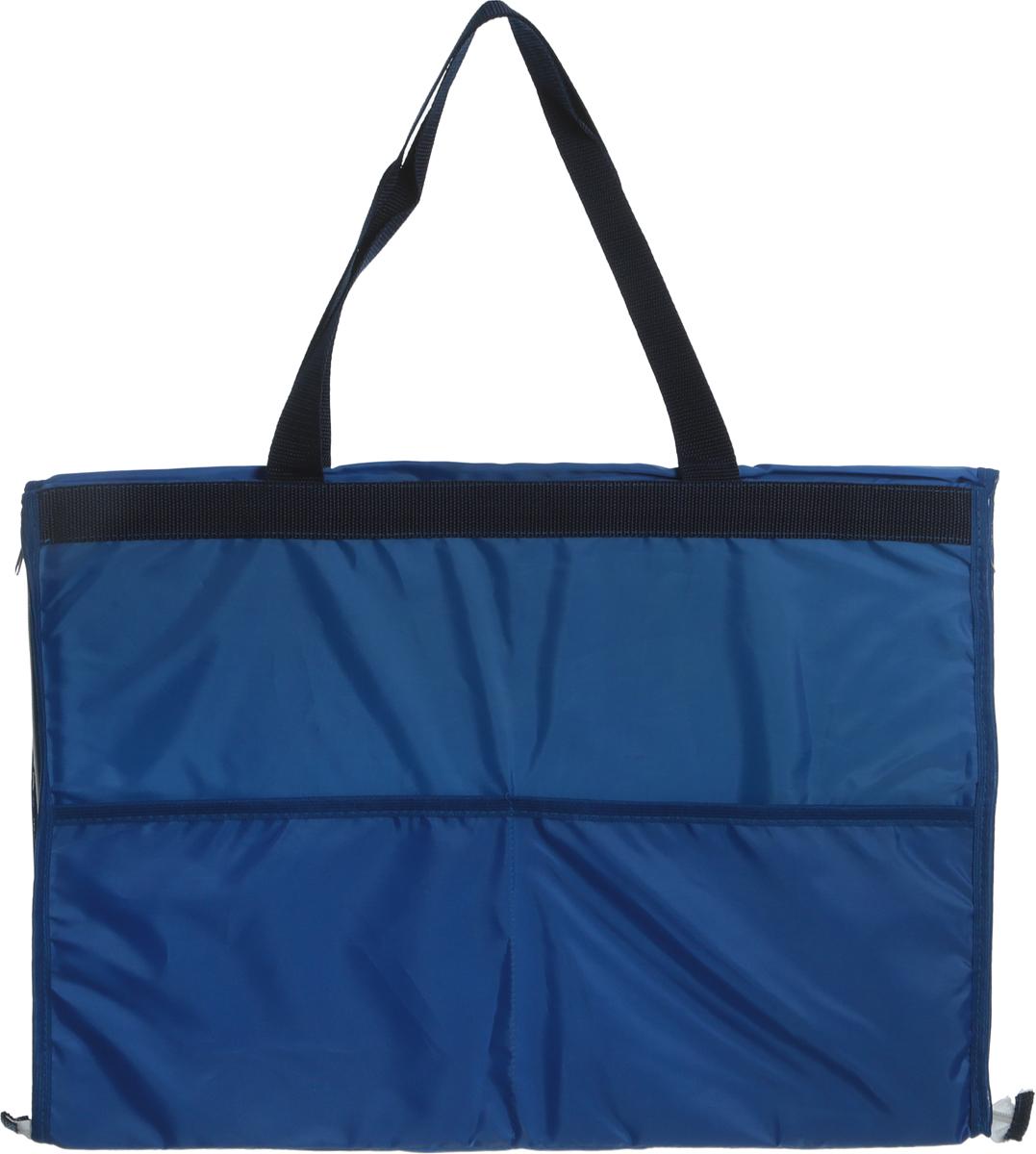 Сумка-коврик для пляжа Eva, 38 х 52 см, цвет: синийК37_синий