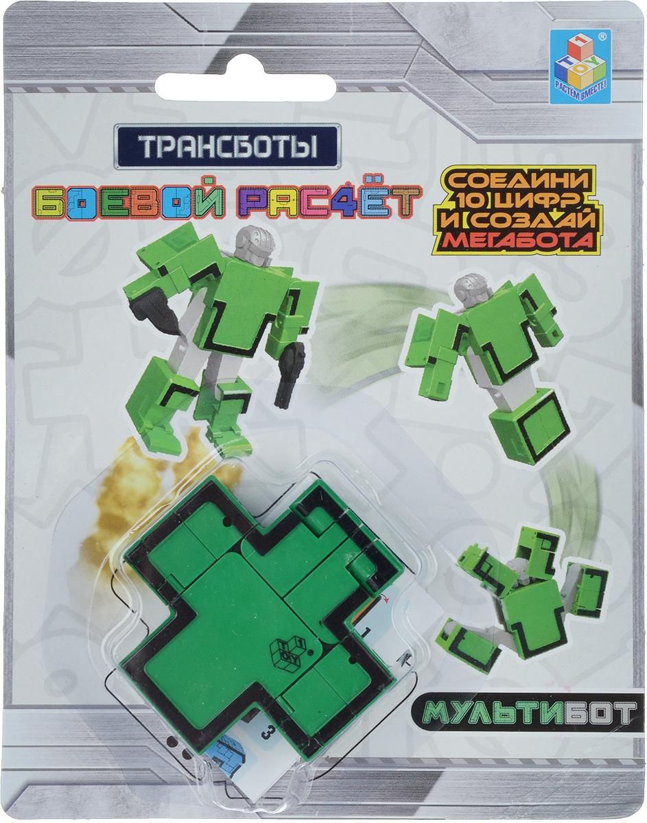 Zakazat.ru 1TOY Фигурка Трансбот Робот Плюс цвет зеленый