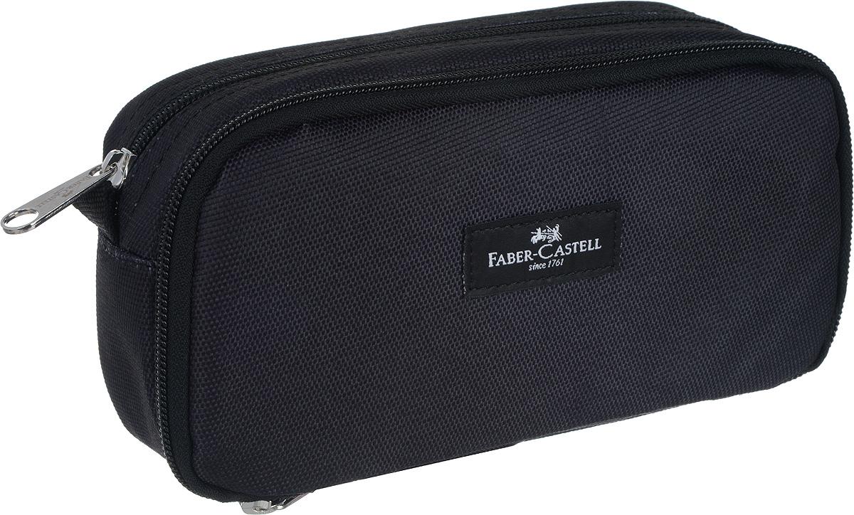 Faber-Castell Пенал цвет черный пенал faber castell 191802