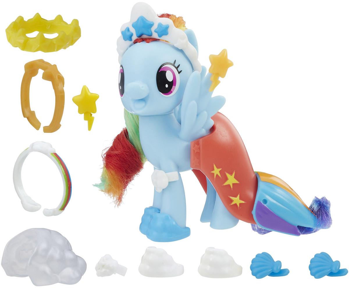 My Little Pony Игрушка Пони Радуга Дэш с волшебными нарядами - Фигурки