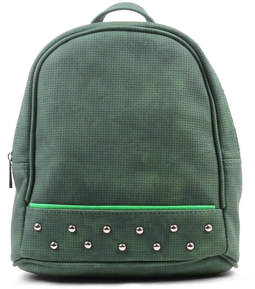 Рюкзак женский Медведково, цвет: зеленый. 17с4611-к14 рюкзак медведково