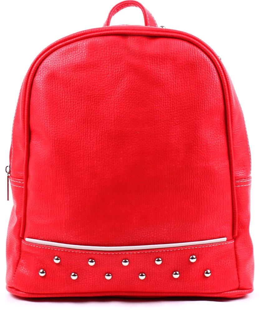 Рюкзак женский Медведково, цвет: красный. 17с4436-к14