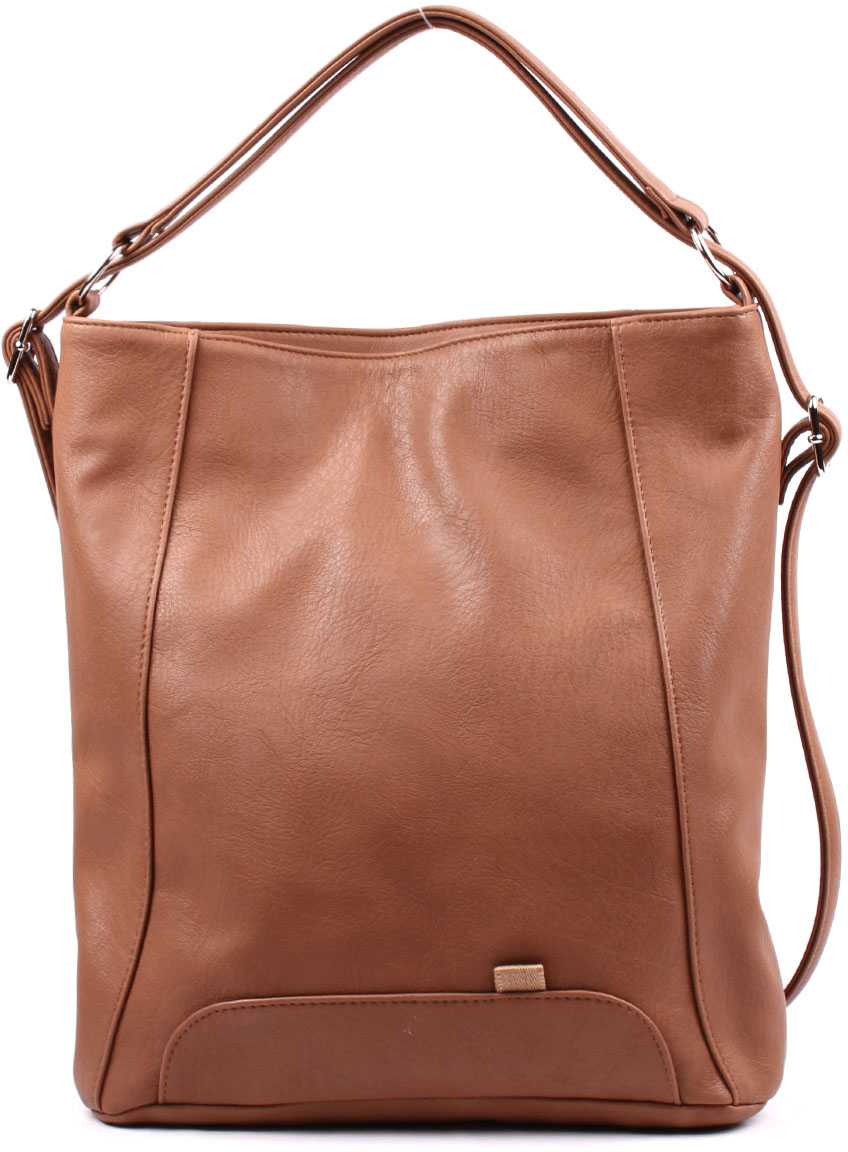 Рюкзак женский Медведково, цвет: коричневый. 17с3744-к14 рюкзак детский proff жесткий говорящий том 38 29 21 см с 1 отделением на замке
