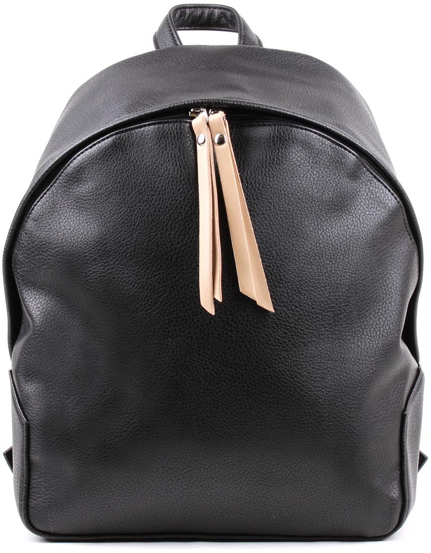 Рюкзак женский Медведково, цвет: черный. 17с6436-к14