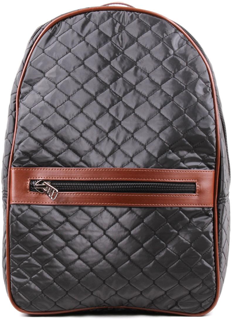 Рюкзак женский Медведково, цвет: черный. 18с2014-к14