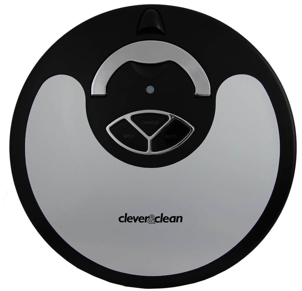 Clever&Clean Z10 III LPower робот-пылесосZpro-SERIES Z10 III LpowerClever&Clean Z10III LPower - новейшая версия популярной линейки роботов Z, вобравшая в себя всепреимущества I и II семейства этих роботов. Среди основных обновлений следует отметить повышение эффективности всасывания и улучшениепоказателей по времени уборки и жизненному циклу аккумуляторной батареи благодаря переходу на литий- ионный аккумулятор, новое программное обеспечение. Робот-пылесос Z10 III LPower обладает классическим функциональным дизайном с откидной ручкой дляудобного переноса робота. Корпус изготовлен из матового черного пластика – это практично, так как прикасании корпуса не остаются следы и отпечатки и грязь на корпусе практически не заметна. Пульт дистанционного управления дальнего радиуса действия позволяет управлять роботом-пылесосомпрактически из любой части дома. Информационный дисплей ПДУ позволяет контролировать работу робота,производить настройку графика уборки и производить ручное управление роботом-пылесосом.Прорезиненная передняя часть робота, оснащена множеством точечных датчиков соприкосновения, чтоспособствует снижению физического воздействия на элементы интерьера и делает работу Z10 III болееделикатной по отношении к мебели.Обладает следующим набором функций: Автоматическая уборка и возвращение на станцию зарядки по окончанию Программирование время уборки на каждый день недели Дезинфекция пола УФ лучами Протирка пола, панелью с накладкой из микрофибры Работа на разных видах половых покрытий, благодаря адаптивному механизму нажима блока щеток Эффективная уборка крупных фрагментов мусора за счет заметания 2-мя вращающимися навстречу другдругу щетками Преодоление препятствий высотой до 1,5 см. Оптические датчики сближения помогают минимизировать соприкосновение робота с окружающимипредметами и повышает эффективность навигации Уборка вдоль стен и в углах Сенсоры перепада высоты не позволяют роботу-пылесосу упасть со ступенек Ограничение площади уборки (в комплекте поставляет