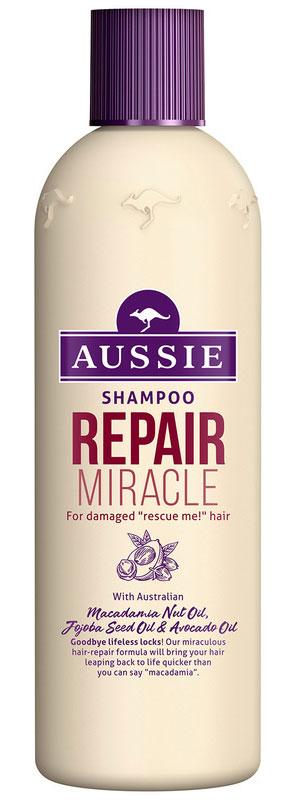 Aussie Шампунь Repair Miracle, для поврежденных волос, 300 мл реконструктор для волос 3 minute miracle aussie 250 мл