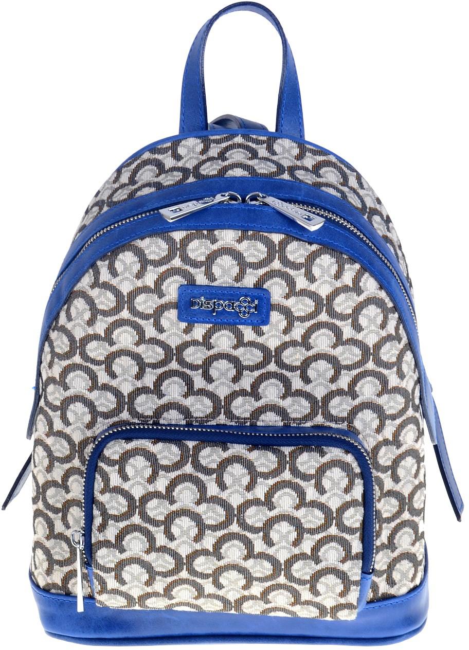 Рюкзак женский Dispacci, цвет: синий. 0818 шапка dispacci dispacci di842cwtsr94