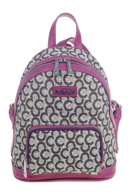 Рюкзак женский Dispacci, цвет: брусничный. 0818