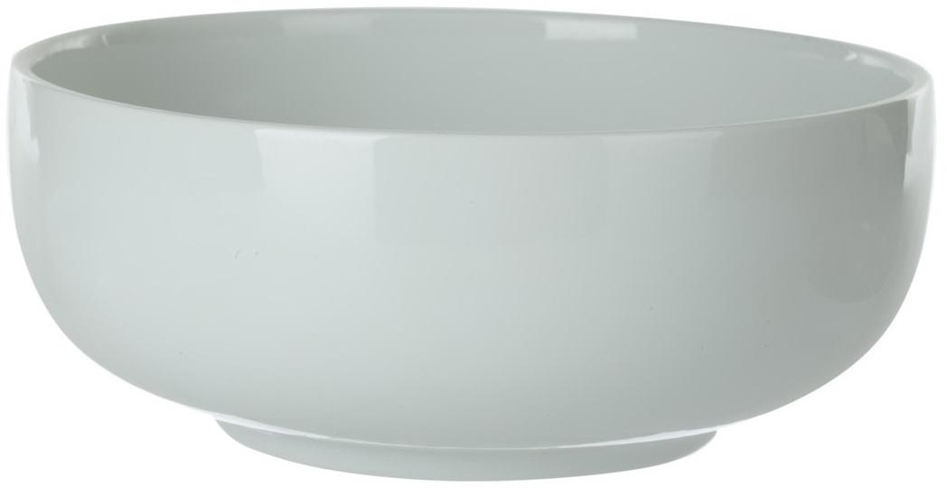 """Салатник """"Nuova Cer"""" изготовлен из качественного фарфора, в состав которого входит  алюминиум (глинозем) в виде порошка.  Возможный перепад температур при эксплуатации до  200 градусов. Фарфор покрывается глазурью, что характеризует эту посуду как продукт высшего  класса.  Идеально подходит для использования в микроволновой печи и посудомоечной  машине."""