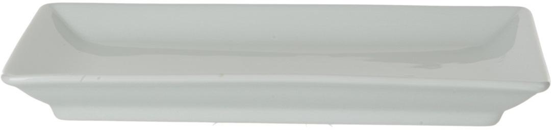 Блюдо Nuova Cer, прямоугольное, цвет: белый, 13,5 х 23 смРП-41/3803Блюдо Nuova Cer- новый уникальный продукт на рынке фарфора, производится из материала, в состав которого входит алюминиум (глинозем) в виде порошка, что придает фарфору уникальные свойства: белоснежный цвет, как на поверхности, так и на изломе, более тонкие и изящные формы, так как добавление металла делает фарфоровую массу более пластичной, устойчивость к сколам и царапинам.Возможный перепад температур при эксплуатации до 200 градусов!Фарфор покрывается глазурью, что характеризует эту посуду как продукт высшего класса.Идеально подходит для использования в микроволновой печи и посудомоечной машине.