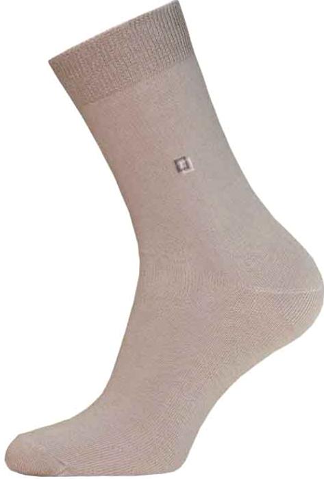 Носки мужские Брестские Basic, цвет: песочный. 14с2222_010. Размер 44/45 носки мужские брестские basic цвет песочный 3 пары 14с2220 008 размер 29