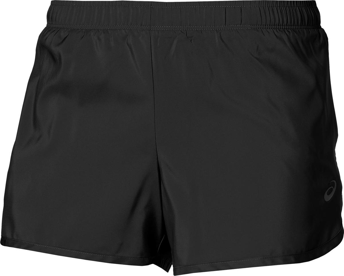 Шорты женские Asics Short 3.5IN, цвет: черный. 134117-0904. Размер XL (50)134117-0904Шорты легкоатлетические от Asics выполнены из 100% полиэстера. Резинка на талии не перетягивает и создает комфорт во время тренировок.
