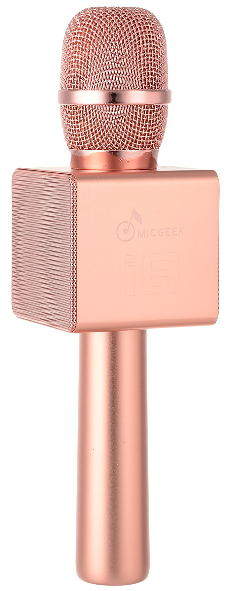 MicGeek I6, Pink Gold микрофон - Микрофоны