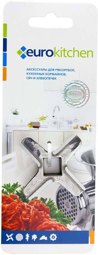 Euro Kitchen KNG-08 нож для мясорубкиKNG-08Нож Euro Kitchen KNG-08 соответствует стандартам качества и максимально хорошо заточен. Высокая производительность и долгий срок службы современных электрических и ручных мясорубок зависят, в первую очередь, от режущих механизмов и их выработки. Своевременная профилактика и замена режущих ивспомогательных элементов способствуют уменьшению нагрузки на узлы и другие механизмы, гарантируя долгую и качественную работу вашей мясорубки.