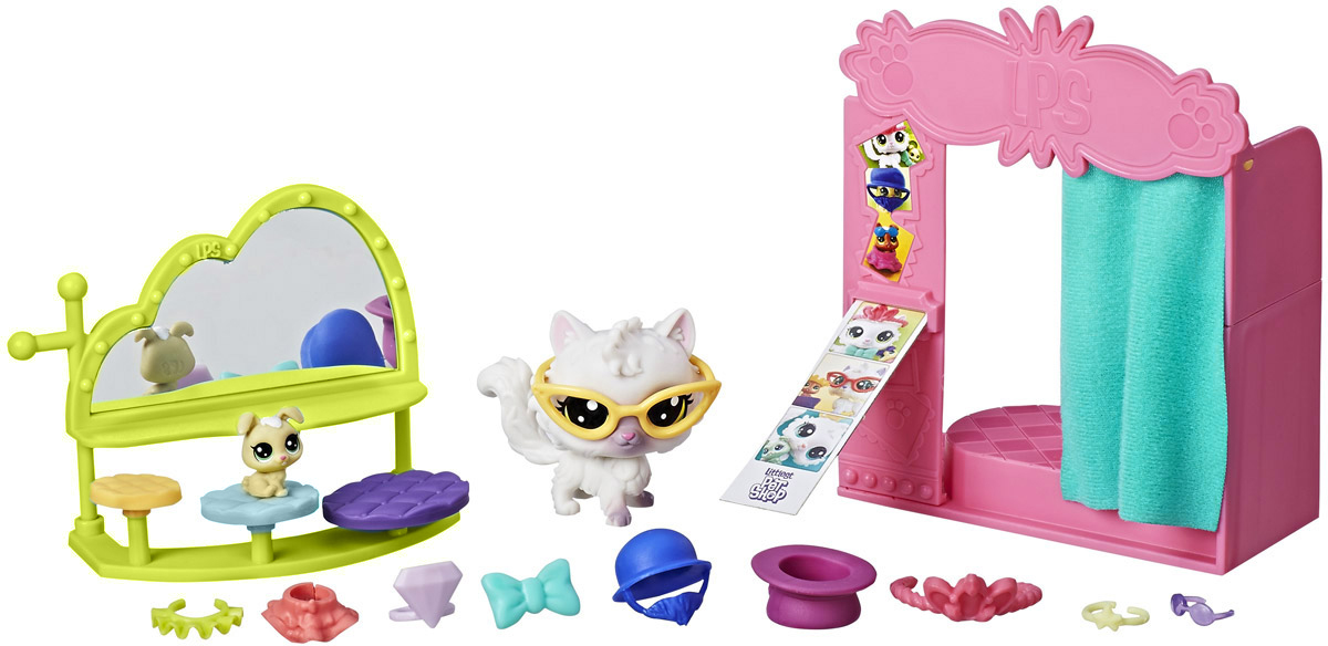 Littlest Pet Shop Игровой набор Flashy Photo Booth