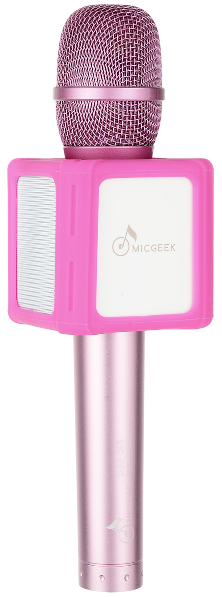 MicGeek Q9S, Pink микрофон - Микрофоны