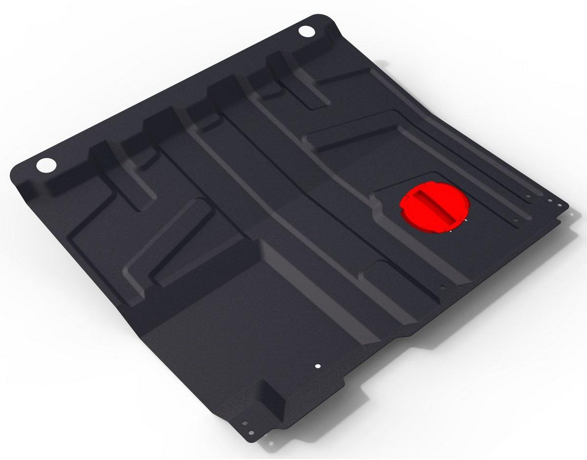 Купить Защита картера и КПП Автоброня Datsun Mi-Do 2015-/Datsun On-Do 2014-/Lada Granta 2011-/Lada Kalina 2007-, сталь 1, 6 мм